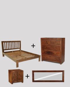 Small Double Size Dakota Bedroom Package