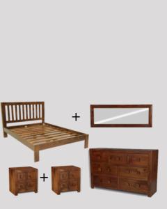 Large Double Size Dakota Bedroom Package