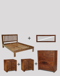 Medium Double Size Dakota Bedroom Package