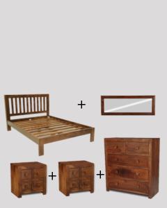Medium King Size Dakota Bedroom Package