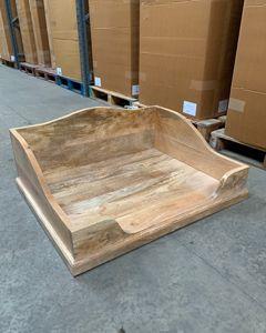 Wooden Dog Bed (DOG4)