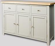 Greyton Painted Oak Large Sideboard