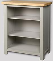 Greyton Painted Oak Slim Bookcase