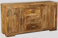 Light Mango Wide Sideboard