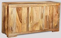 Light Mango Large Sideboard