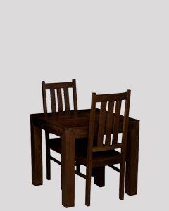 Mango 80cm Dining Set