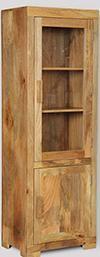 Light Mango Display Cabinet