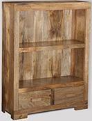 Small Light Mango Bookcase
