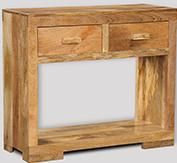 Mango Light Console Table