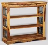Jali Light Low Bookcase