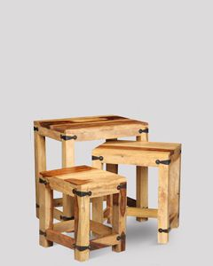Jali Light Nest of Tables