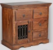 Small Jali Sideboard