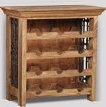 Jali Natural Wine Rack
