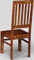 Jali High Back Slat Chair