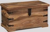 Jali Natural Storage Chest