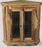 Jali Light 2 Door Cabinet