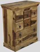 Jali Light Bedroom Chest
