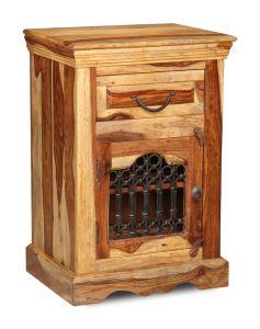 Jali Light Cabinet with Drawer