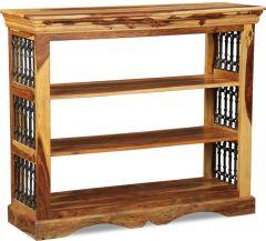 Jali Light Low Bookcase