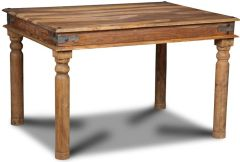 Jali Natural 120cm Dining Table