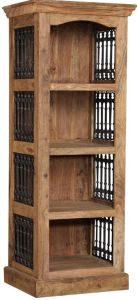 Jali Natural Bookcase