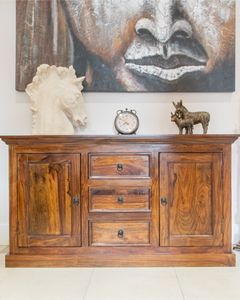Large Sheesham Sideboard