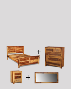 King Size Light Cube Bedroom Package