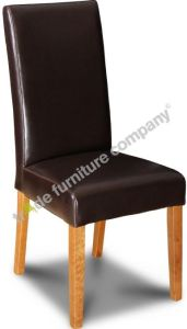 Brown Barcelona Leather Dining Chair
