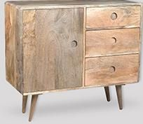 Light Vintage Mango Sideboard