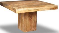 Mango Light 120cm Cube Dining Table