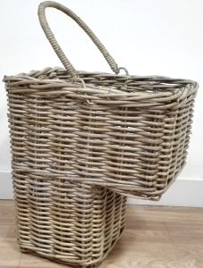 Rattan Stair Basket