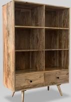 Light Retro Chic Large Bookshelf