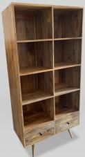 Light Retro Chic Large Bookcase