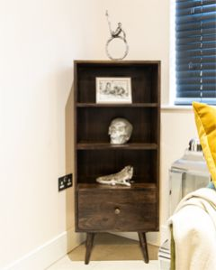 Retro Chic Bookcase
