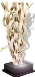 Reclaimed Teak Vine Lamp