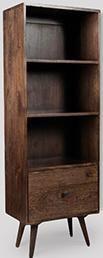 Retro Chic Bookshelf