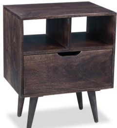 Retro Mango Bedside Table