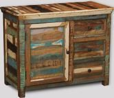 Reclaimed Indian Small Sideboard