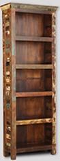 Reclaimed Indian Large Bookcase