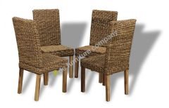 Set of 4 Havana Rattan Chairs