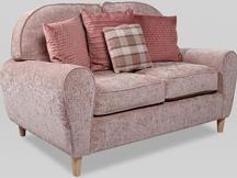 Rose Beige 2 Seater Sofa