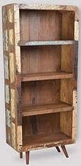 Recycled Retro Bookshelf