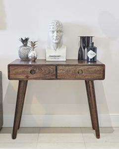 Vintage Mango Console Table