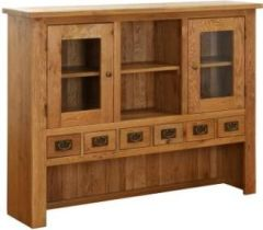 Atlanta Large 2 Drawer 2 Door Buffet Hutch Only