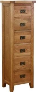 Atlanta 6 Drawer Tall Chest
