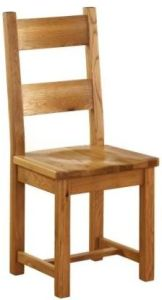 Atlanta Dining Chair with Timber Seat