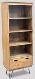 Light Vintage Bookcase