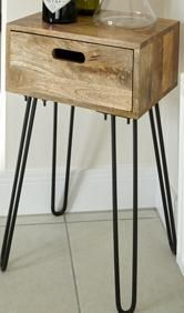 Light Vintage Side Table