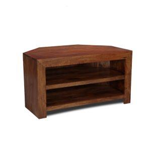 Dakota 2 Shelf Corner TV Unit