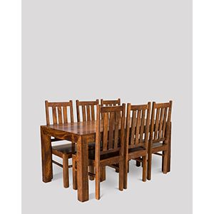 Dakota 180cm Dining Table & 6 Dakota Chairs